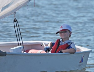 Sailors can handle a boat solo as early as 8 years old.