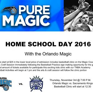 orlando magic homeschool day 2016