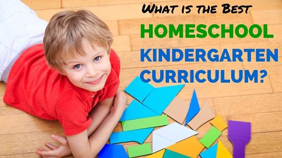 best homeschool kindergarten curriculum